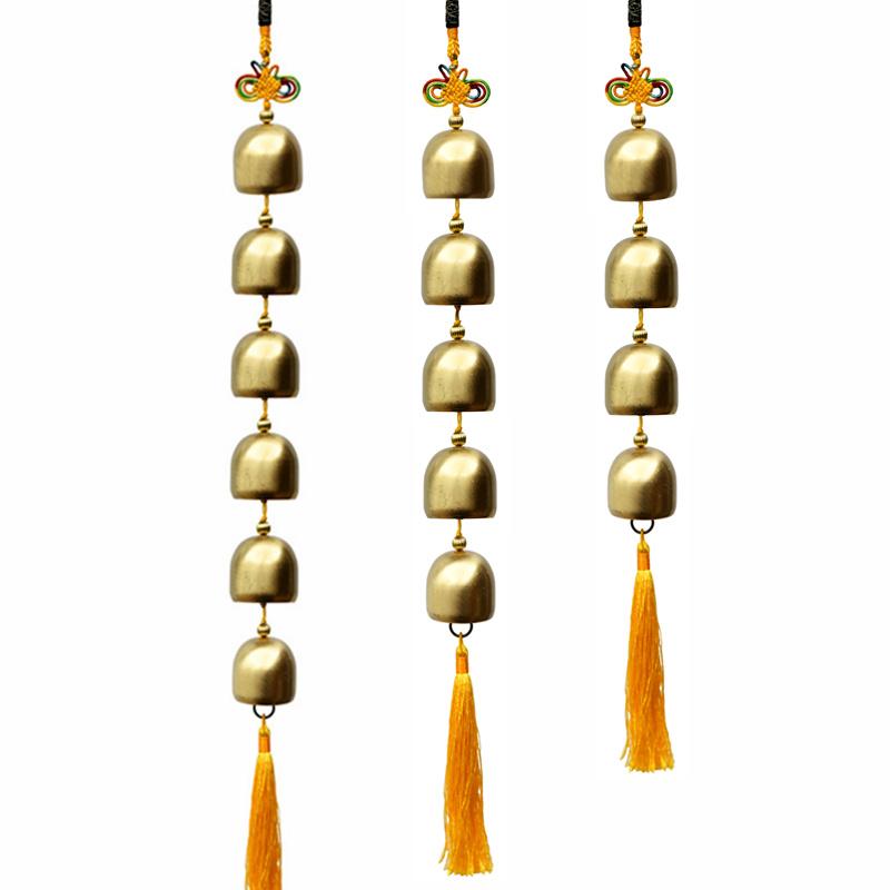 尖货性价比高纯铜铃铛风水铃风铃