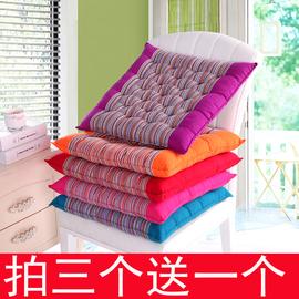 纯棉老粗布学生凳子冬棉坐垫餐椅垫加厚沙发垫办公室靠垫汽车坐垫图片