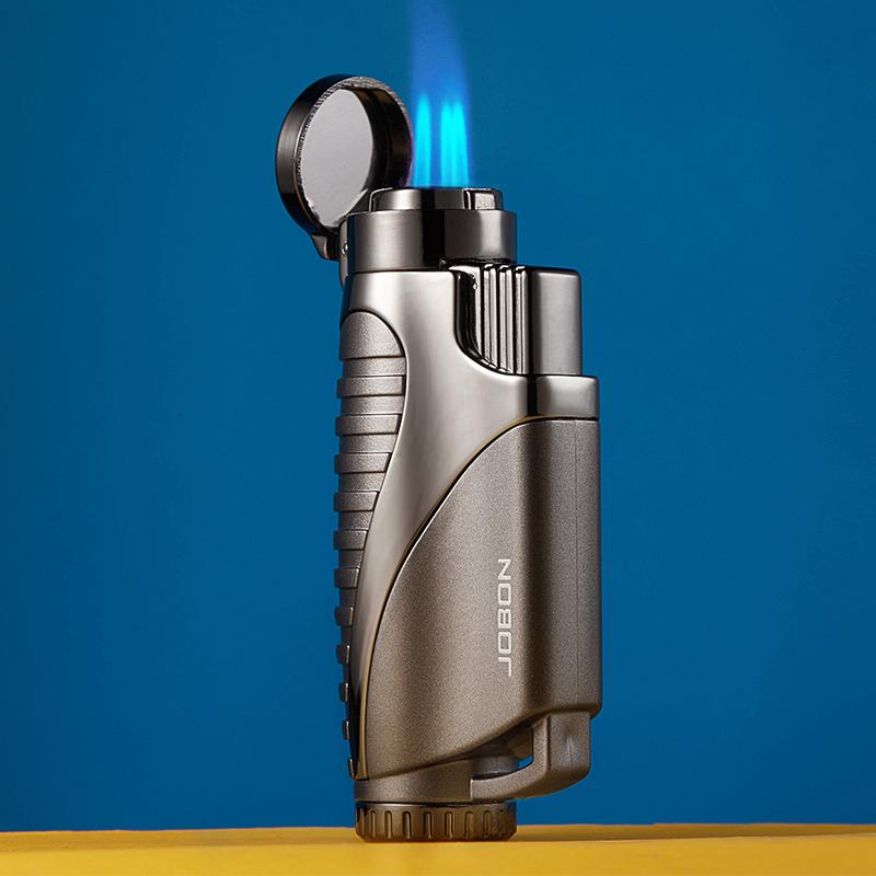 jobon中邦直冲防风火机艾灸焊枪户外烧烤点火器创意雪茄打火机男