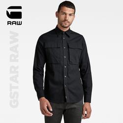 GSTAR RAW2021秋新品NAVY SEAL男士时尚休闲常规长袖衬衫D20167