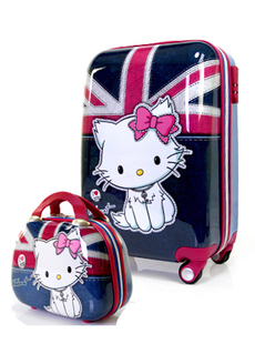 20 inch suitcase hellokitty cute female child Trolley mother board chassis suitcase caster