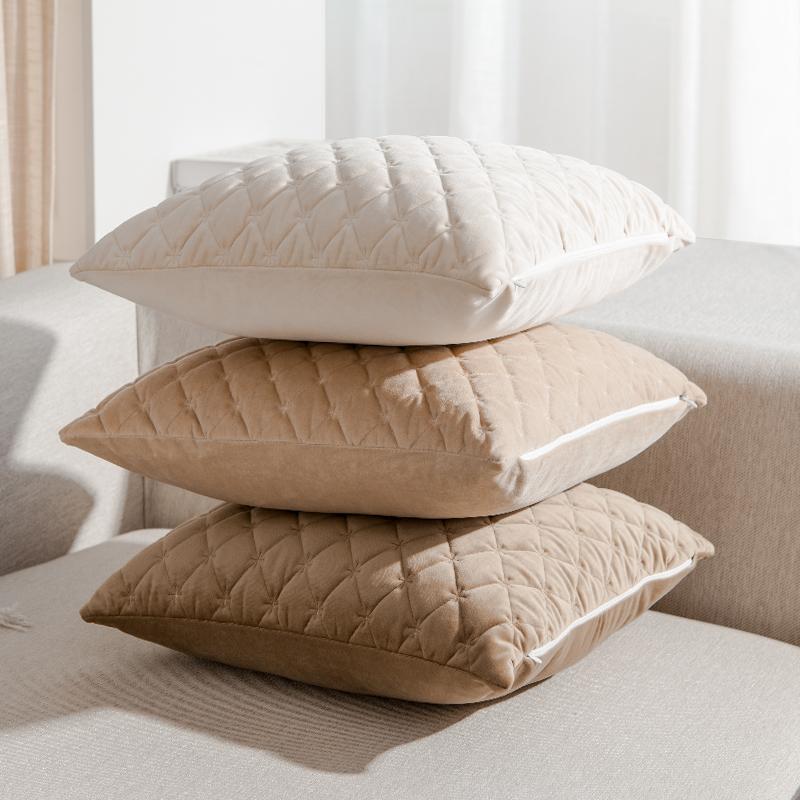 北欧沙发办公室腰靠枕床头抱枕27.00元包邮