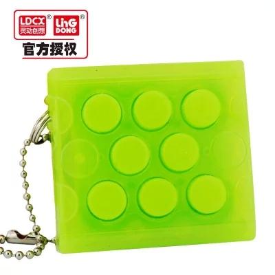 Аутентичные неограниченное выжать игрушка пузыря декомпрессии экстракт дефлектора правило щипок кольцо пузыря иметь зуд, чтобы ущипнуть пузырь машины