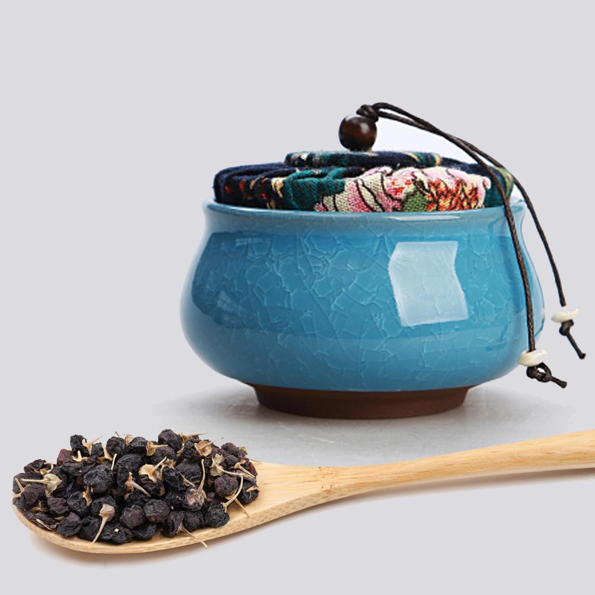 青海野生黑枸杞柴达木超大颗粒6~8毫米花青素之王可以吃的美容品