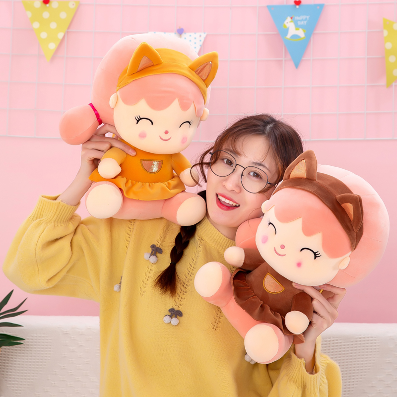 中國代購 中國批發-ibuy99 毛绒玩具 可爱小松鼠公仔毛绒玩具儿童陪伴摆件玩偶布娃娃送女生生日礼物