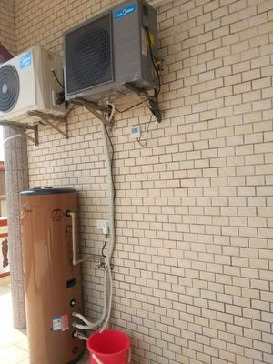 入手评价美的 KF66150L-MI(E4)空气能热水器 150升L家用空气源热泵怎么样,好用吗