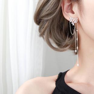 流蘇耳環女長款氣質超仙顯臉瘦的耳環大氣網紅耳墜耳釘2020新款潮