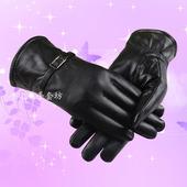 【天天特价】真皮手套绵羊皮冬季保暖加绒骑行防风女士防寒皮手套