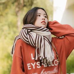 韩版毛线围巾