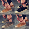 Spring new Korean shoes shell head men's sports and leisure shoes retro trend of men's shoes tide wild youth