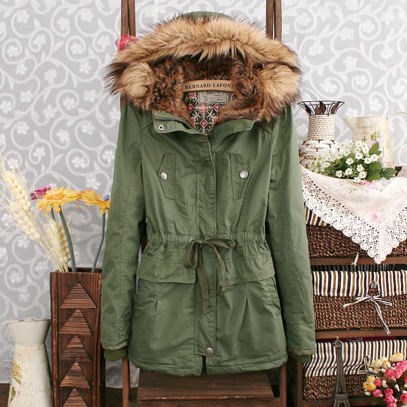 2014 зима новый расслабленной вскользь с капюшоном сплошной цвет хлопка галстук талии сплошной цвет кашемировые пальто женщин