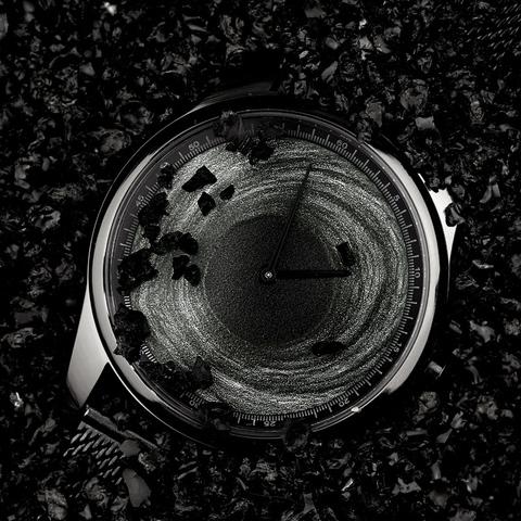情人节礼物Enmex译时腕表 立体卡冈图雅创意设计黑洞概念调性手表