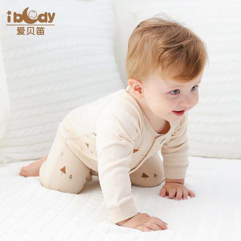 婴儿连体衣春秋新生儿衣服宝宝哈衣纯棉初生爬爬服睡衣0-3-6个月