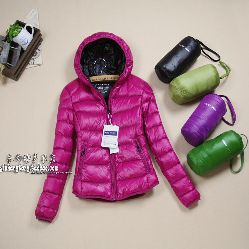 Фолд. осень/зима носить теплые зимние должн иметь сохранить новый ультра легкий комфорт мягкие, тонкие короткие капюшоном вниз куртка женщин