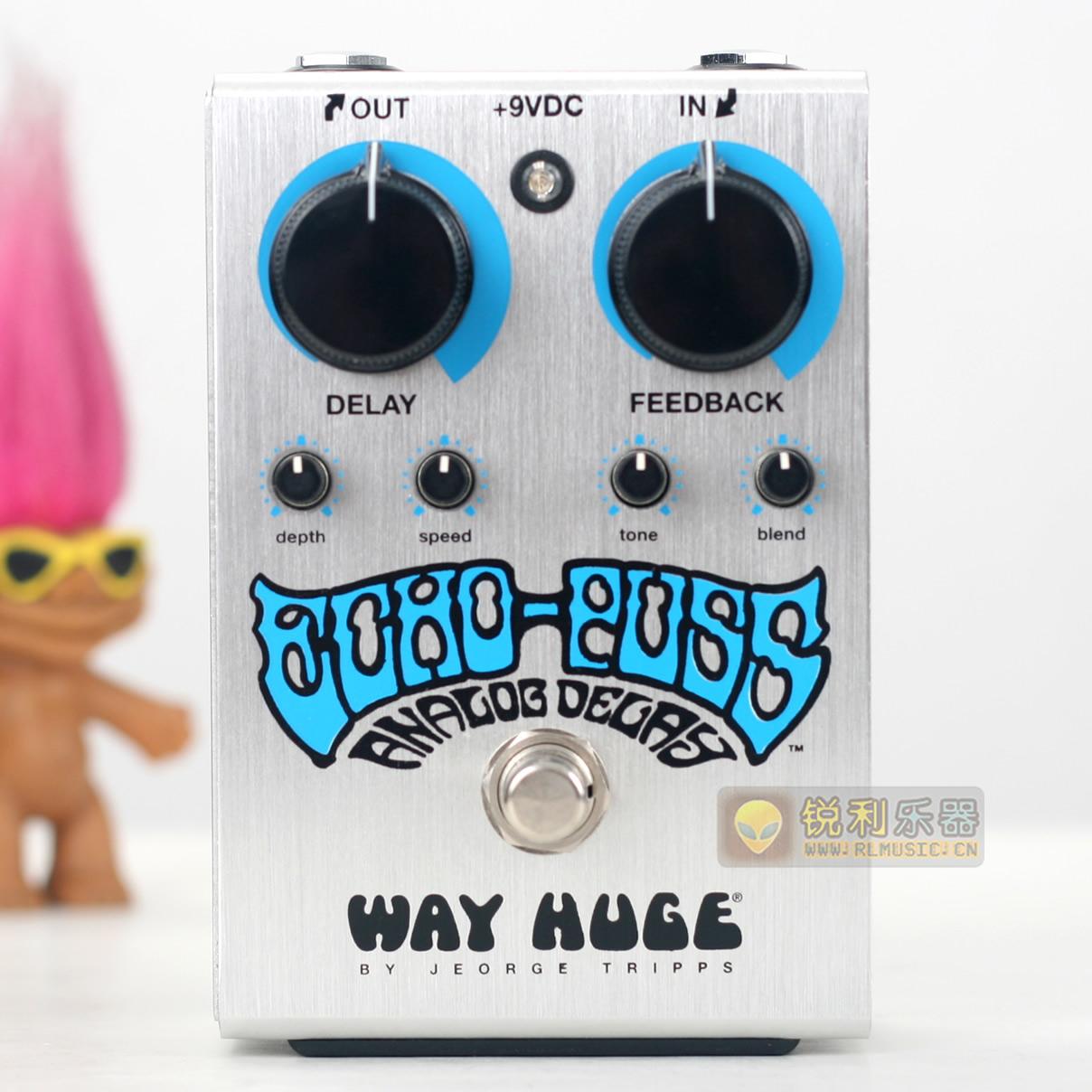 【Way Huge WHE702S Echo-Puss】模拟延时效果器【锐利乐器】