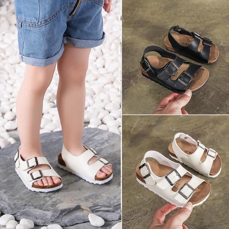 夏季儿童软木沙滩鞋韩版男童拖鞋11月29日最新优惠
