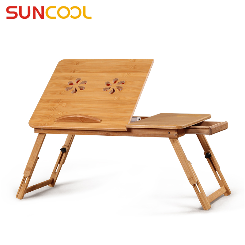 Sun Valley Bed with laptop desk folding notebook bracket creative lazy small desk