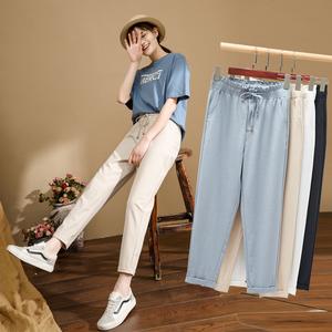 2020新款夏季萝卜哈伦女裤宽松裤子显瘦百搭夏天薄款休闲
