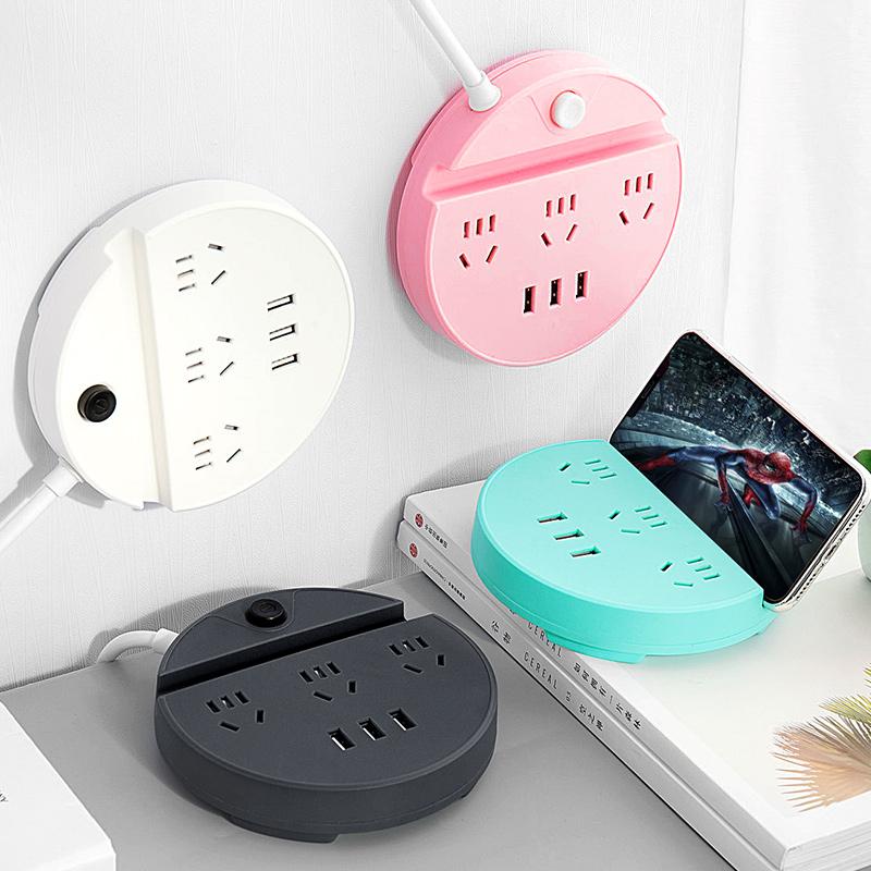 抖音同款创意家居家庭生活实用日用品小百货商品懒人神器插座线板