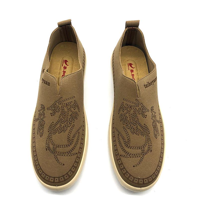 泰和源夏款特价一脚蹬纯色龙字时尚休闲板鞋网鞋老北京布鞋男鞋