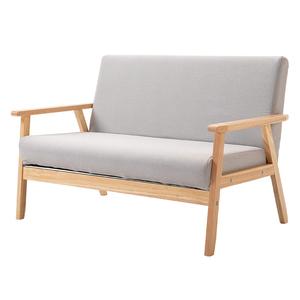 小戶型簡易網紅款布藝日式單人椅
