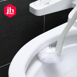日本马桶刷家用厕所S弯道刷子洗卫生间蹲坑软毛创意刷清洁无死角