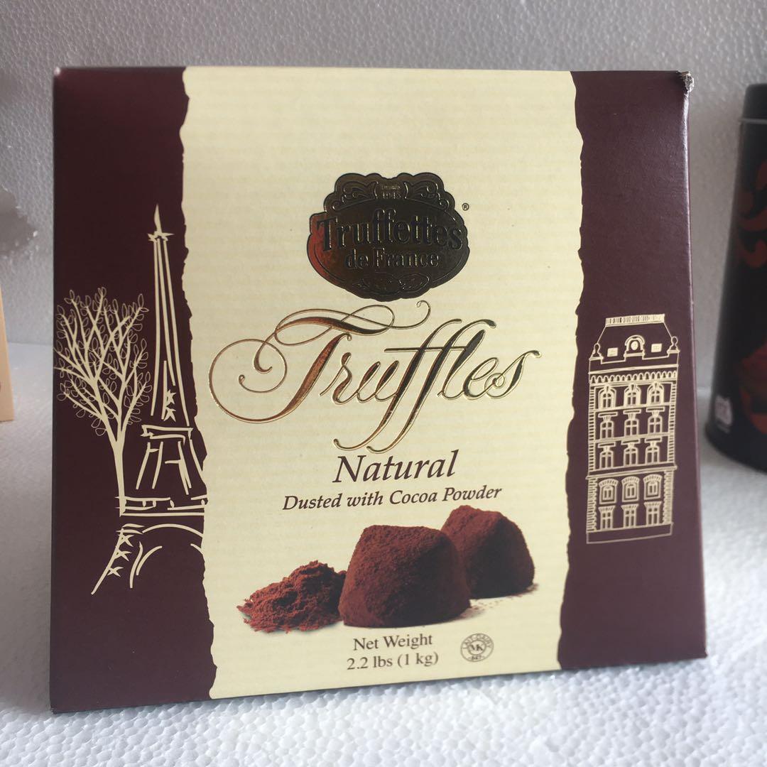 法国乔慕Truffles进口松露巧克力经典原味1Kg零食圣诞年货礼品