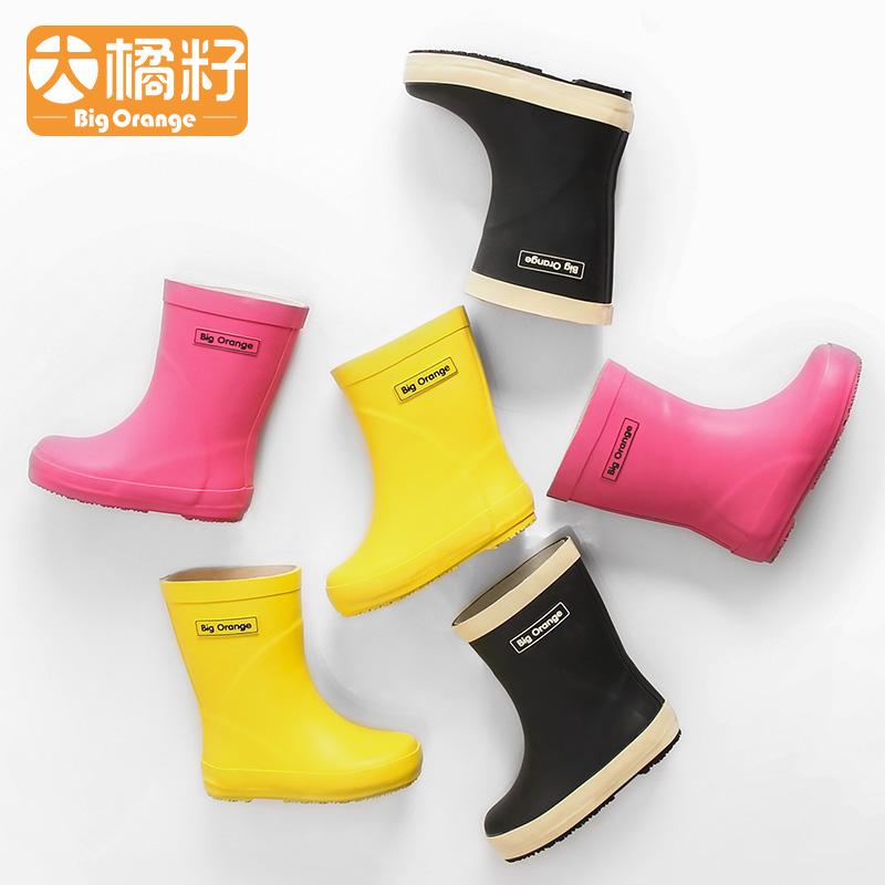 Большой мандарин семена мода скольжение студент ребенок ребенок ребенок небольшой следующий сапоги сапоги вода обувной обувной мужской и женщины X6001