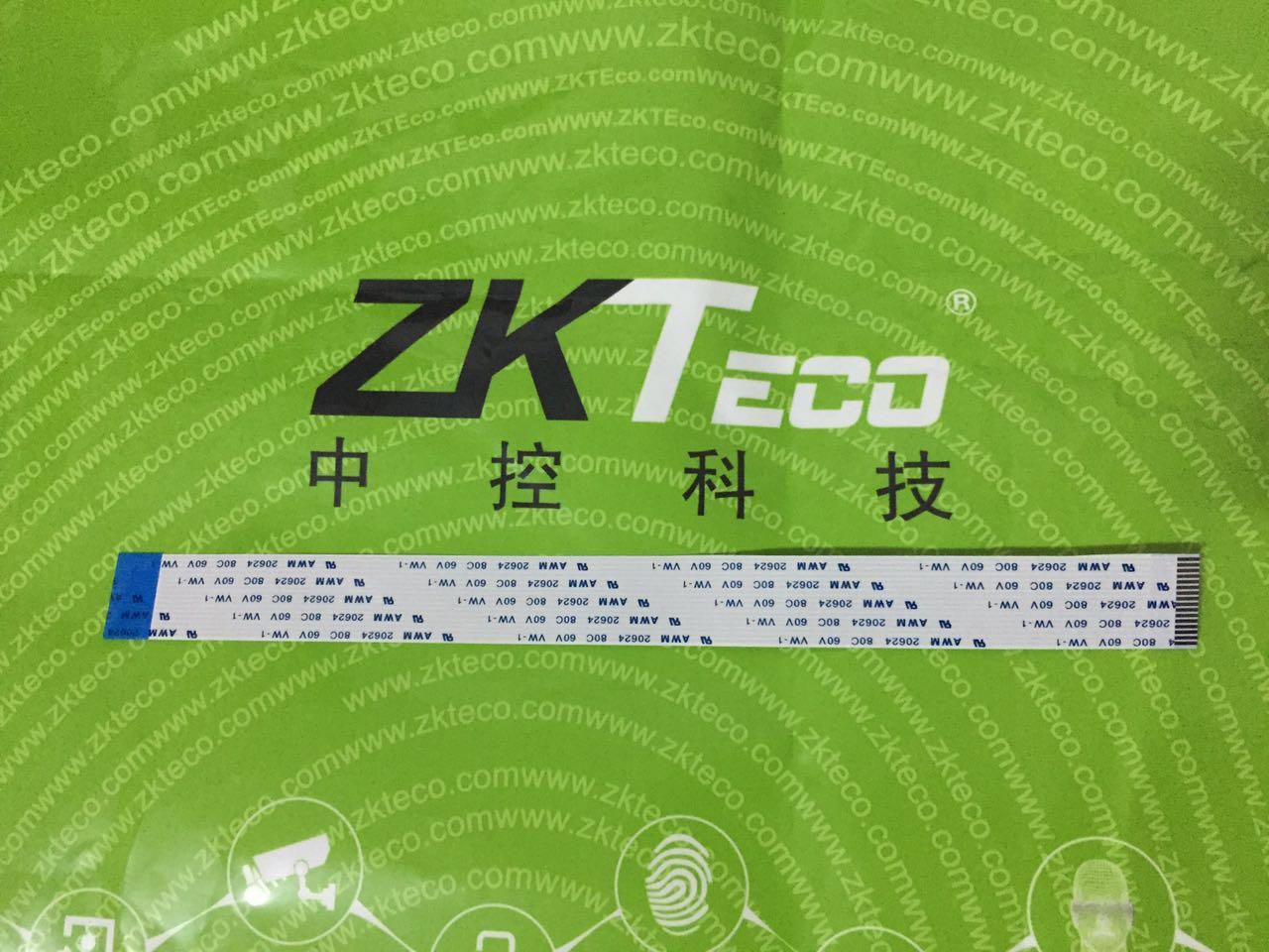 中控K28/U160/X628指纹考勤机16P排线,中控考勤机原装指纹头排线