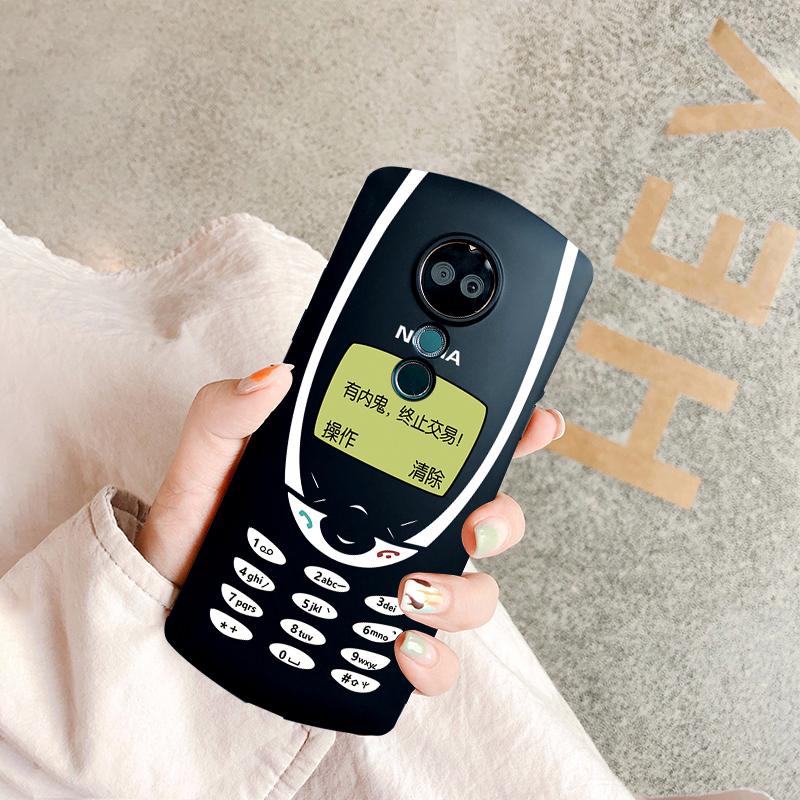 网红封帆同款复古诺基亚美图T9手机壳m6s/m8s/T8S/v6个性软壳女款t9限量版保护套