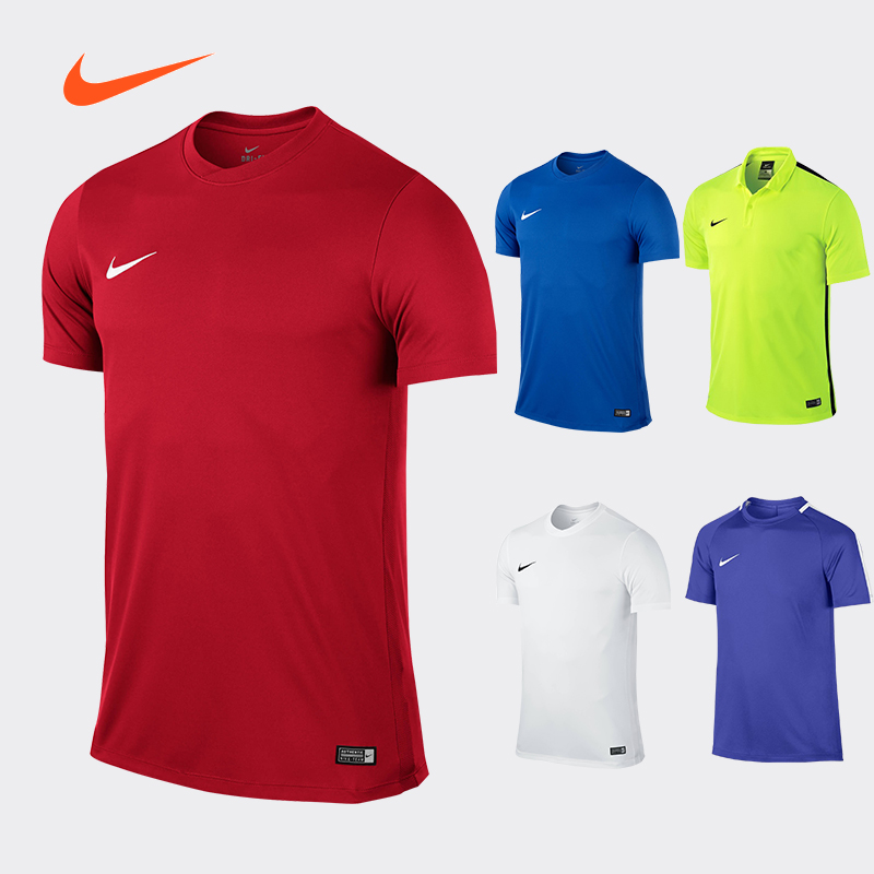 Nike children's T-shirt football suit match training suit women's sports t-shirt men's summer custom team Nike football suit