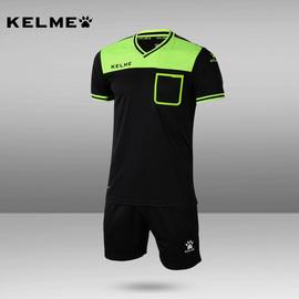 卡尔美足球裁判服套装短袖KELME裁判服足球专业足球比赛裁判装备图片