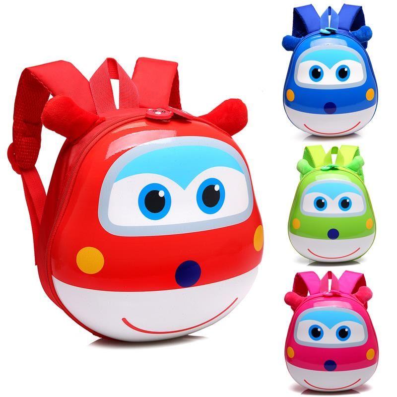 小飞侠书包幼儿园儿童卡通背包男女童小孩宝宝1-5岁蛋壳双肩书包