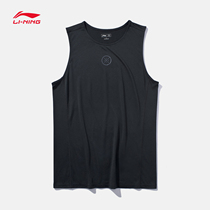 李宁背心男2021夏季官方正品韦德之道篮球速干上衣宽松薄款运动服
