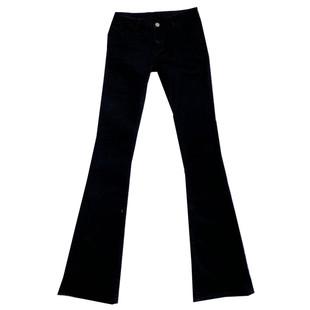 175高個加長女褲超長黑色微喇叭牛仔褲顯瘦修身高腰2020春季新款