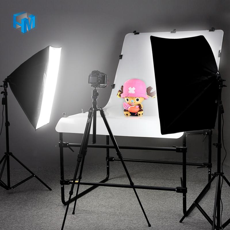 小型摄影棚套装led灯箱淘宝拍产品珠宝拍摄静物照柔光箱首饰饰品拍照灯道具商品常亮服装店拍照补光灯摄影灯
