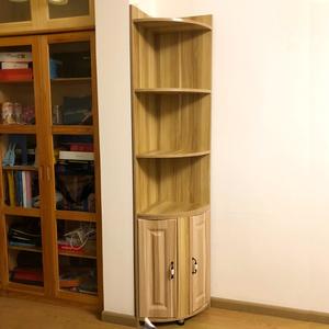 转角柜衣柜组合墙角置物架三角置物柜收纳架拐角边角卧室客厅弧形