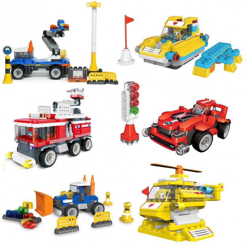 百变布鲁克玩具遥控车6岁布鲁可益智积木大颗粒环保儿童生日礼物