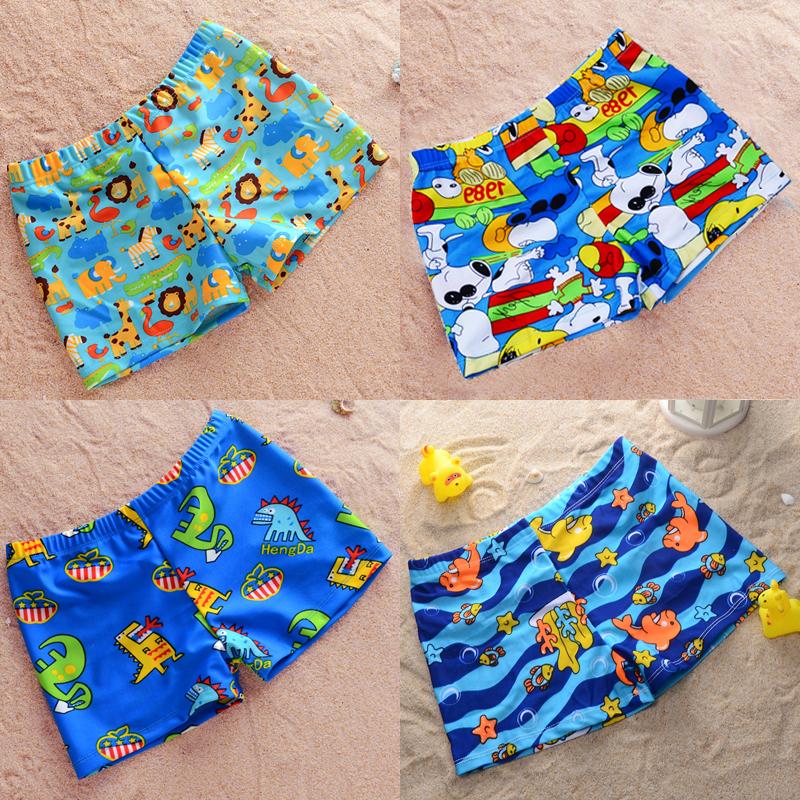 天天特價兒童泳衣男童平角卡通游泳褲嬰兒寶寶小中大童泳褲嬰童館