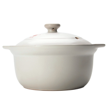 Kangshu Sandpot Ceramic High Temperature Resistant Wide-mouth Soup Pot Open-fire Direct-fired Sandpot Household Porridge Pot Soup Pot Healthcare Pot