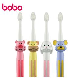 bobo乐儿宝十二生肖卡通婴儿牙刷宝宝乳牙刷口腔清洁护理牙刷