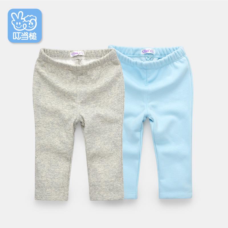 叮当槌 婴儿保暖裤子 舒适长裤 宝宝保暖裤0-4岁