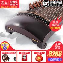 扬州古筝级演奏古筝10全实木收藏级专业琴桐木古筝润扬挖筝