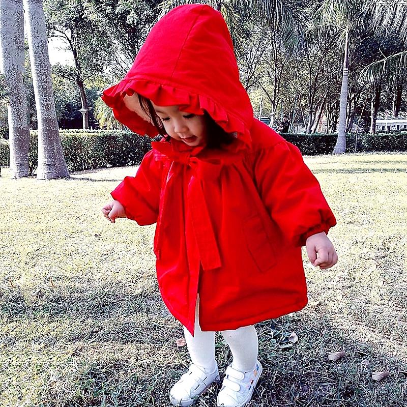 中小童棉衣2018新款冬装女童加厚加绒婴童幼儿女宝宝棉袄冬外套
