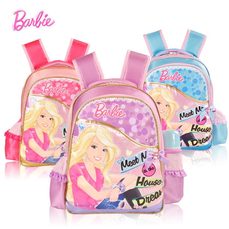 包邮女生新款芭比书包小学生1-4年级双肩女童儿童魔力甜心