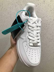 爱耐克空军一号板鞋女aj学生情侣低帮男鞋 AF1小白鞋子正品运动鞋