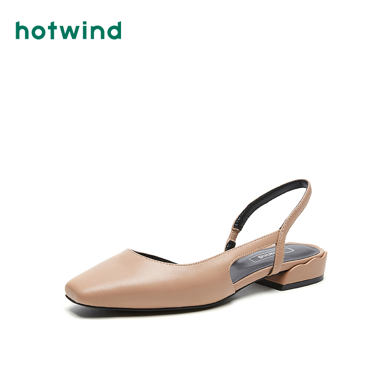 Hot air women's shoes spring 2020 new women's fashion flat sandals casual single shoes h33w0115
