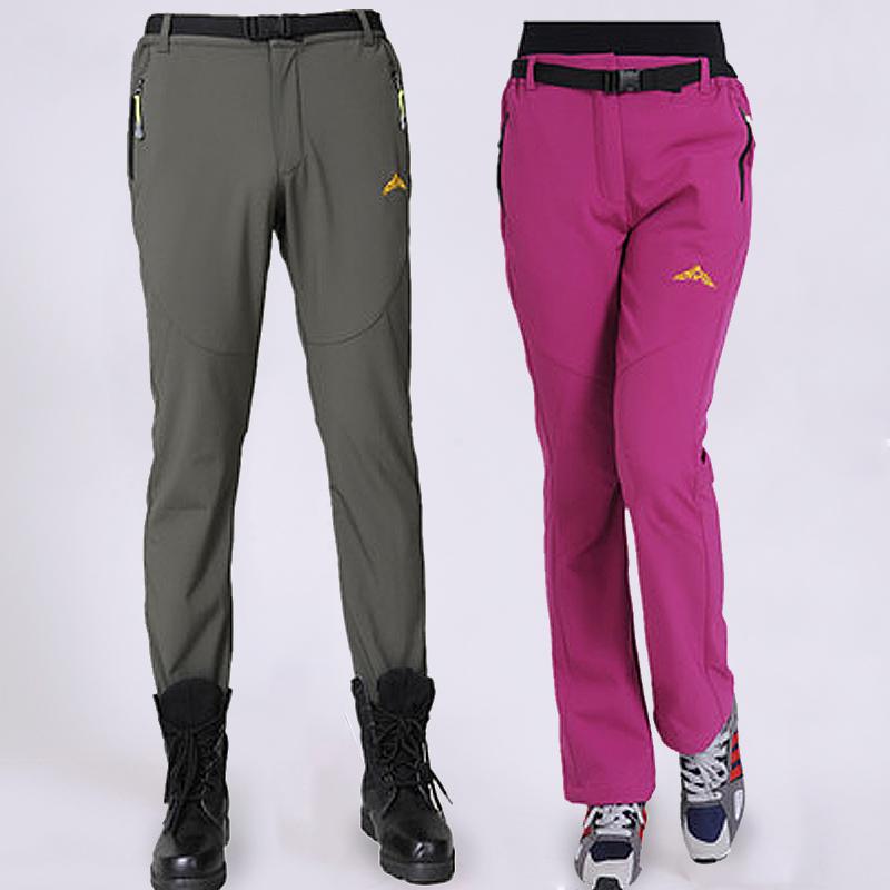 Новый пулемёт брюки шерсть мужской и женщины на открытом воздухе восхождение брюки любителей быстросохнущие брюки спортивные брюки для предотвращения ветровой проникновение воды газ