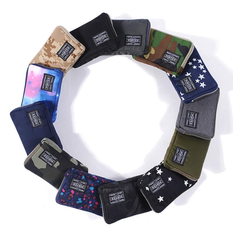 新品吉田PORTER手拿包防水尼龍鑰匙排扣包零錢包YKK拉鏈鑰匙卡包
