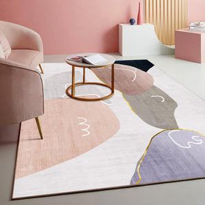 客厅轻奢卧室ins少女床边毯毛毯